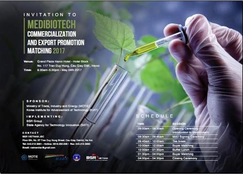 Giao lưu với các DN mỹ phẩm, dược phẩm Hàn Quốc tại HN