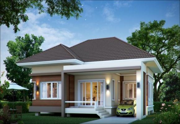 Mẫu nhà một tầng đẹp và tinh tế nhìn là mê
