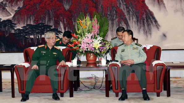 Thượng tướng Nguyễn Chí Vịnh,  Nguyễn Chí Vịnh, giao lưu biên giới Việt-Trung