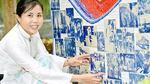 Tranh tường trang trí sân bay Đà Nẵng đạt giải thiết kế quốc tế