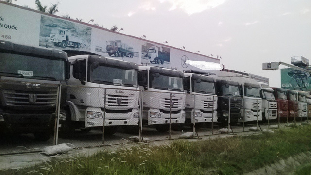 Ô tô Trung Quốc lại đổ dồn về Việt  Nam