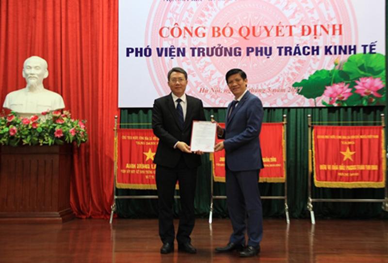 bổ nhiệm, nhân sự, Bộ trưởng Nguyễn Thị Kim Tiến, Bộ Y tế