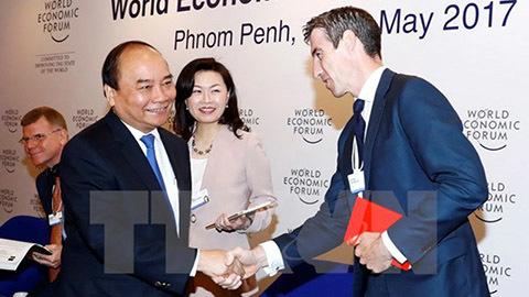 Thủ tướng kết thúc tốt đẹp các hoạt động tham dự WEF ASEAN