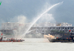 Hải quân Hoa Kỳ và Đà Nẵng diễn tập ứng phó sự cố tràn dầu trên sông