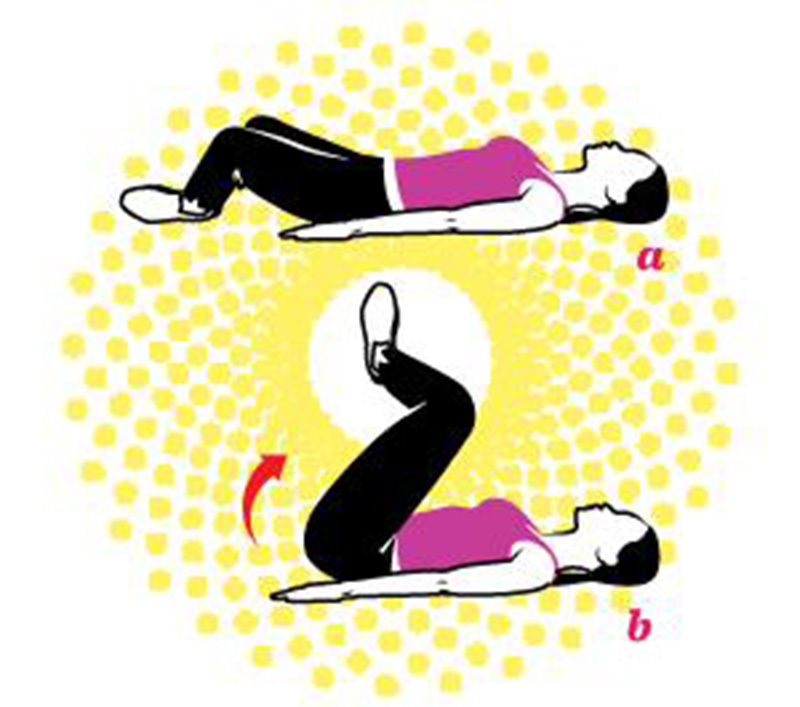 4 động tác giúp bụng săn chắc