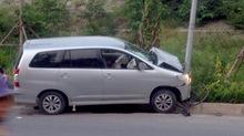 Hà Nội: Ô tô tông hàng loạt xe, nhiều người hoảng loạn