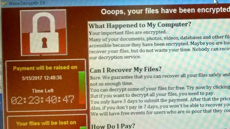 Virus Wanna Cry, mã độc tống tiền, mã độc, an toàn thông tin, bộ TT&TT