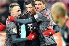 Bayern hạ Leipzig sau cuộc rượt đuổi siêu kịch tính