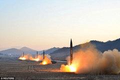 Triều Tiên phóng tên lửa đạn đạo