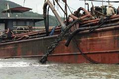 Tạm dừng đổ chất thải xuống biển đối với công ty gang thép Nghi Sơn