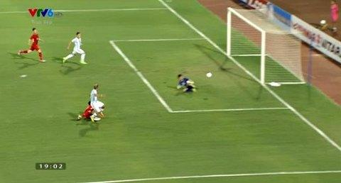 U22 Việt Nam 0-0 U20 Argentina phút 2