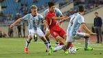 U22 Việt Nam 0-5 U20 Argentina: Khách quá mạnh