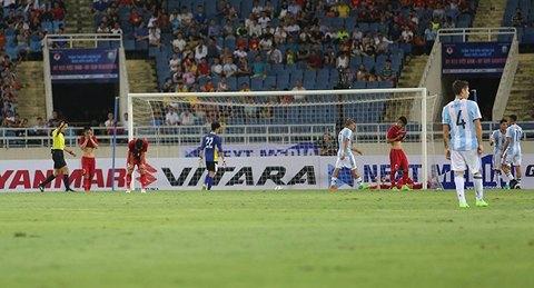 U22 Việt Nam 0-4 U20 Argentina phút 65 goal