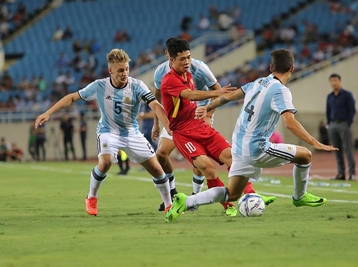 U22 Việt Nam, U20 Argentina, trực tiếp bóng đá, HLV Hữu Thắng