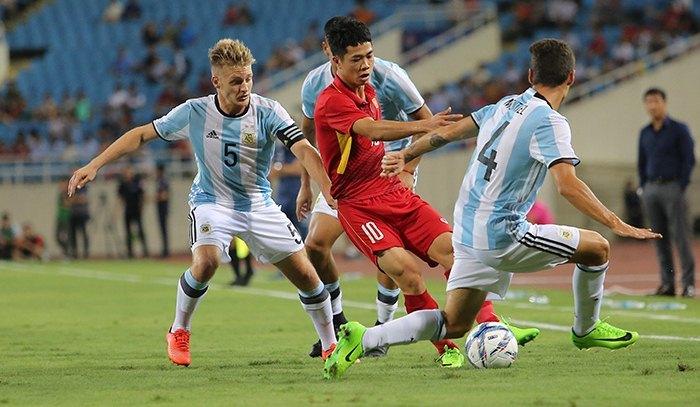 U22 Việt Nam, HLV Hữu Thắng, Công Phượng, U20 Argentina