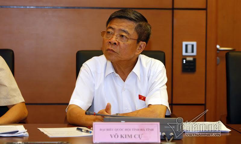 Thường vụ QH thảo luận việc cho thôi ĐBQH với ông Võ Kim Cự