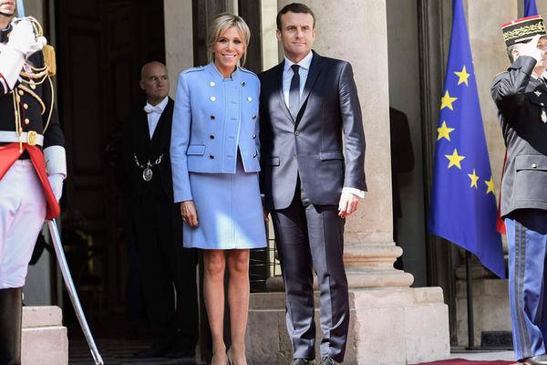 Thời trang đẳng cấp của Đệ nhất phu nhân Pháp ngày chồng nhậm chức