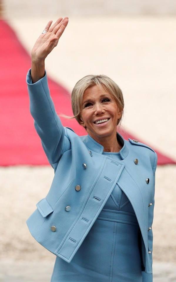Đệ nhất phu nhân Pháp, bầu cử Pháp, Tổng thống Pháp, lễ nhậm chức