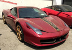 Siêu xe Ferrari 458 Italia rồng 'phủ bụi' tại Trung Quốc