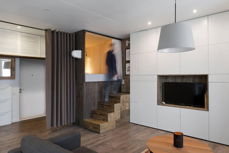 căn hộ 35m2, mẫu căn hộ đẹp, trang trí nhà