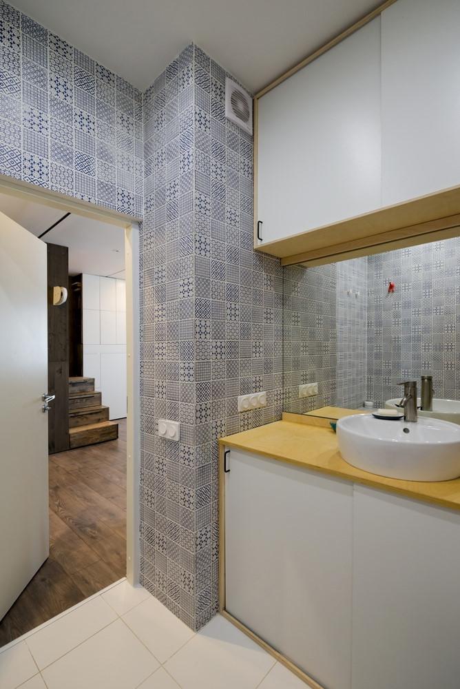 Căn hộ 35m2 thiết kế đẹp mắt với 'hộp ngủ' tiết kiệm diện tích