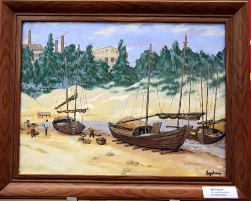 62 năm Hải Phòng trong triển lãm 'Sắc màu tháng 5'