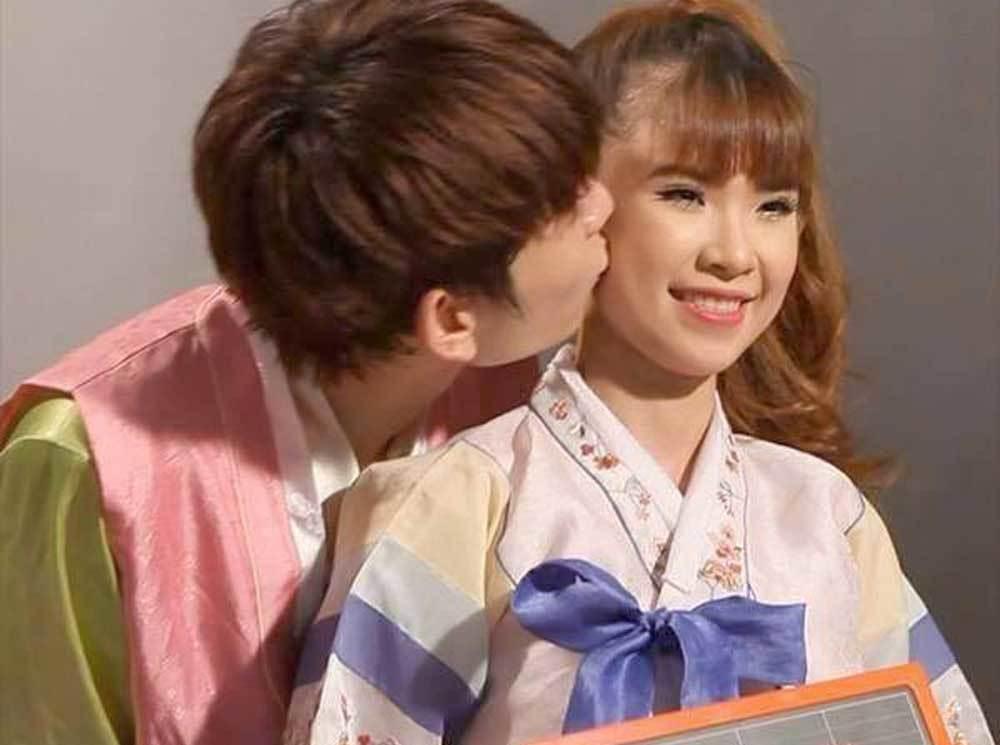 Vợ chồng Khởi My, Kelvin Khánh tình cảm ở Hàn Quốc