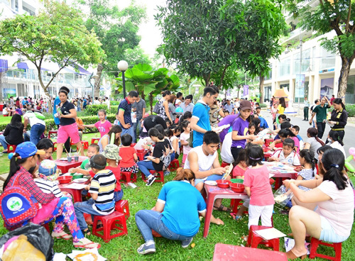 Ngày hội Phú Mỹ Hưng: Hơn 30.000 quà miễn phí cho trẻ