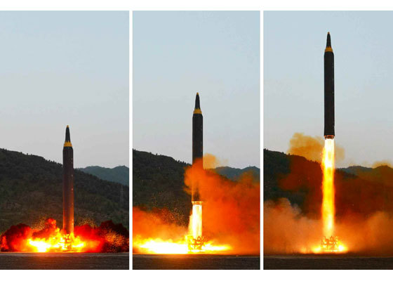 Triều Tiên, tên lửa đạn đạo, tên lửa đạn đạo xuyên lục địa, tập trận