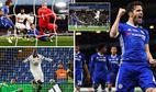Chelsea thắng nghẹt thở dưới cơn mưa gôn