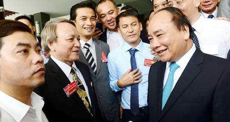 thủ tục hành chính, tham nhũng, môi trường kinh doanh, Thủ tướng gặp doanh nghiệp, phí bôi trơn, PCI,