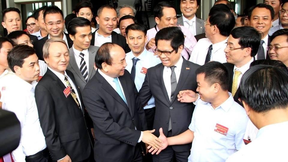 Thủ tướng Nguyễn Xuân Phúc,Nguyễn Xuân Phúc,đối thoại với doanh nghiệp