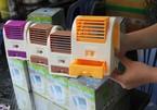 Quạt thổi đá mini chống nóng: Coi chừng nguy hiểm