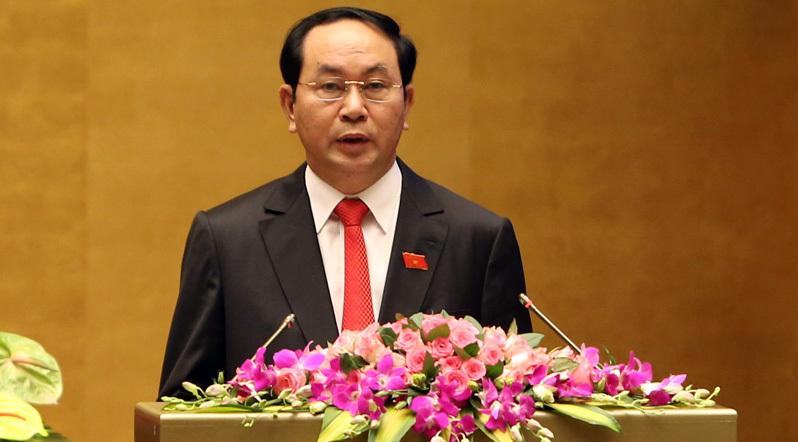 APEC 2017, Chủ tịch nước Trần Đại Quang, Trần Đại Quang