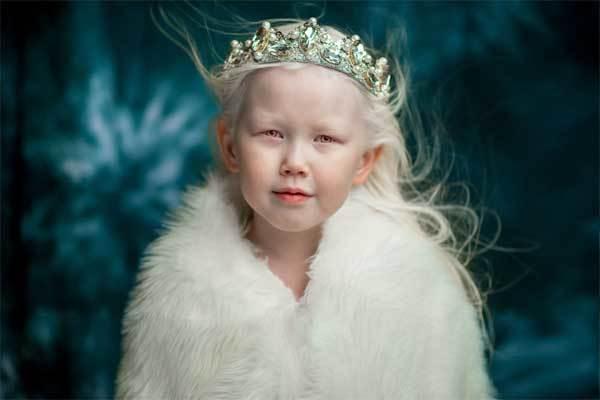 """""""Công chúa tuyết"""" từ cổ tích bước ra đời thực"""