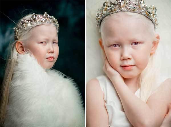'Công chúa tuyết' từ cổ tích bước ra đời thực