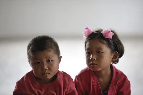 Hình ảnh hiếm về tuổi thơ của trẻ em Triều Tiên
