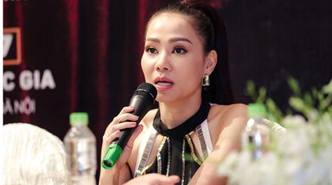 Thu Minh chia sẻ việc bảo vệ hình ảnh của con với truyền thông