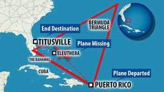 Máy bay mất tích ở Tam giác quỷ Bermuda