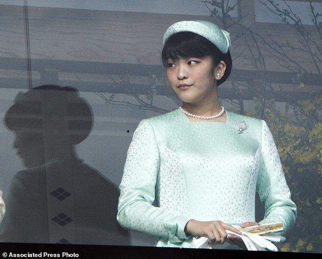 Công chúa, Nhật Bản, Nhật hoàng, lễ đính hôn
