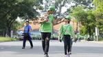 Khoảnh khắc gia đình Phạm Anh Khoa tham dự 'Ngày hội đi bộ'