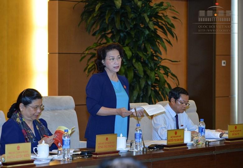 chất vấn, trả lời chất vấn, Chủ tịch Quốc hội, Nguyễn Thị Kim Ngân