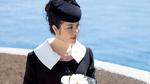 Lý Nhã Kỳ mặc quý phái viếng mộ minh tinh Grace Kelly