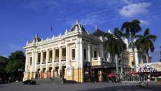 Cận cảnh Nhà hát trăm tuổi ở Hà Nội nhiều nguyên thủ ghé thăm