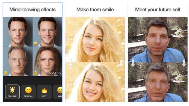 Ứng dụng chụp ảnh FaceApp đang khuấy động giới trẻ