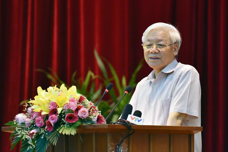 Tổng bí thư Nguyễn Phú Trọng, Nguyễn Phú Trọng