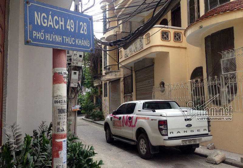 Hà Nội, lái xe, xe ô tô bị phun sơn