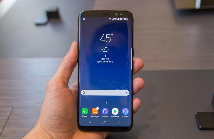 Galaxy, S8+, thiết kế, bảo mật, chống nước, camera,