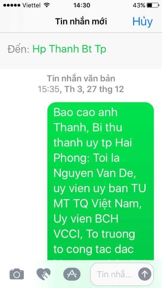 Bầu Đệ,Bí thư Hải Phòng,Lê Văn Thành,Thủ tướng đối thoại doanh nghiệp