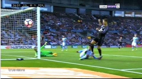Celta Vigo 0-1 Real Madrid Ronaldo goal phút 26
